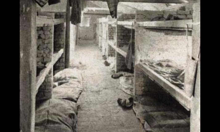 living conditions concentration camps